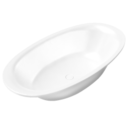 Ellipso Duo Oval with Panelling 1900x1000x465