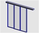D STA Curtain Wall Panel