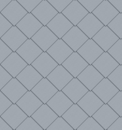 Square Tile Facade (325 mm x 325 mm, prePATINA blue-grey)