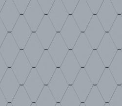 Diamond Tile Facade (228 mm x 330 mm, prePATINA blue-grey)