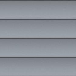 Shiplap Panel Facade (250 mm, prePATINA blue-grey)