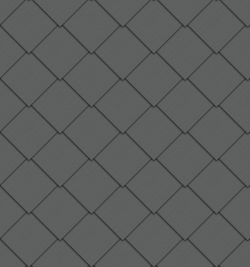 Square Tile Facade (325 mm x 325 mm, prePATINA graphite-grey)
