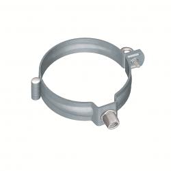 Downpipe bracket round (size 100, prePATINA blue-grey)