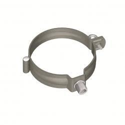 Downpipe bracket round (size 100, prePATINA graphite-grey)