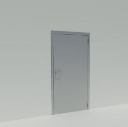 Porte battante simple