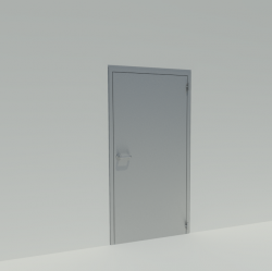 Single swing door HC (CR3)