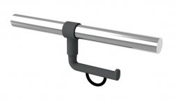 2050300 Porte-rouleau pour barre d'appui montage ultérieur 43x120