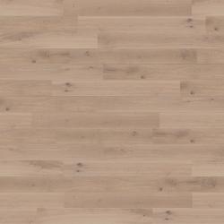 Smoke varnished oak wood flooring, ceiling and panelling