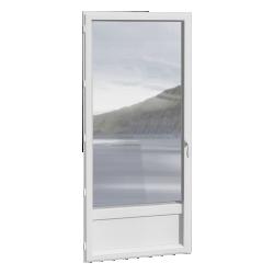 porte-fenêtre 1 vantail ALU, avec ou sans soubassement