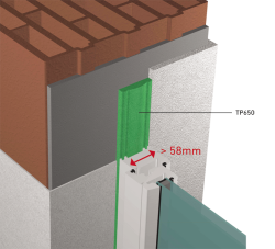 TUNNEL RT2012 largeur profile fenetre superieur 58mm