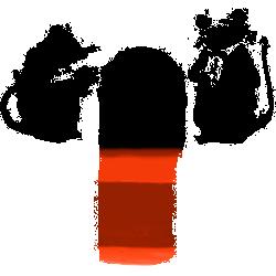 Banksy Red Carpet Mice