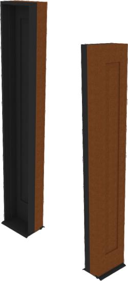 Ultra Door Sidelite Inswing Entrance 1 Panel Sash Handicap Sill