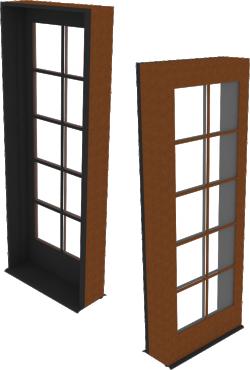 Ultra Door Sidelite Inswing Entrance 1 Wide Handicap Sill