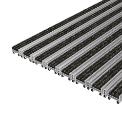 TopCleanTrend® with Ribbed Carpet and Scraper Bar