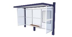 Bus shelter Cirrus Standard
