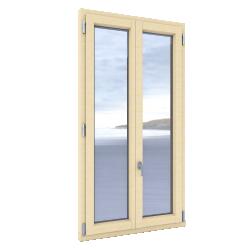 Windows 2 sash with triple glassing