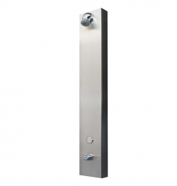 88710 PLP Single stainless steel thermostatic Touch