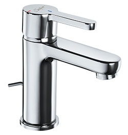 75616 Presto Sanifirst Single hole washbasin mixer tap  Energy savings with drainage