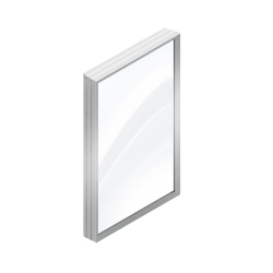 Fixed Window (Metal)