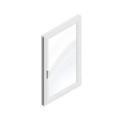 Window 1 leaf (PVC)