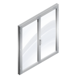 Window 2 Doors (Metal)