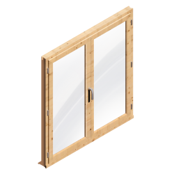 Window 2 Doors (Wood)