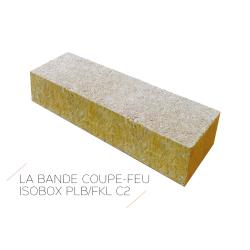 BANDE COUPE FEU Bande coupe feu en laine de roche 1200x200
