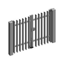 VERTICALIA swing gate