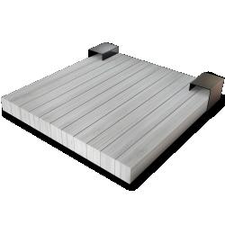 Palette Wood Bed H