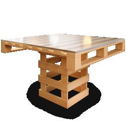 Palette Wood Desk 1
