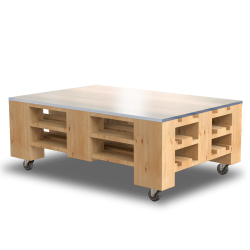 Palette Wood Low Table