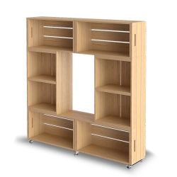 Palette Wood Rangement 1
