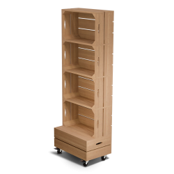 Palette Wood Shelves 4