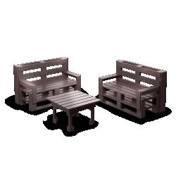 Palette Wood Sofa 2