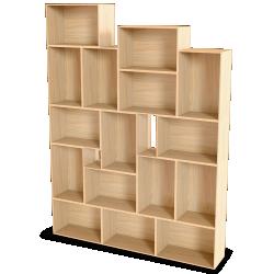Palette Wood Wall Shelf 8