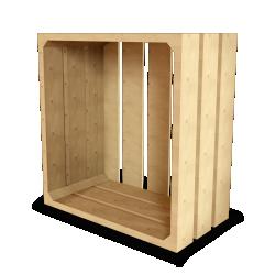 Palette Wood Wall Shelf 14