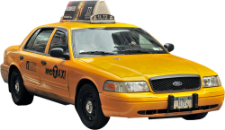 1995er Ford Crown Victoria New York Taxi 1