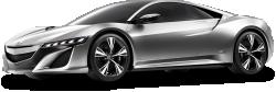 Acura NSX Gray Car 1