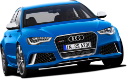 Blue Edition Audi Luxury Car 27
