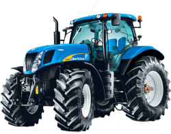 Blue Tractor 338