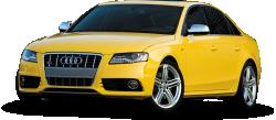 Yellow Audi Car 93