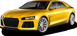 Yellow Audi Car 94