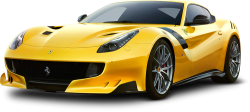 Yellow Ferrari F12tdf Car 127