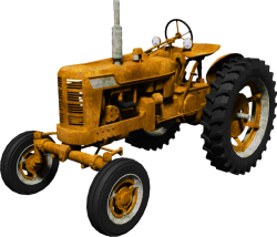 Yellow Tractor 1460