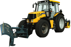 Yellow Tractor 2461
