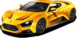 Yellow Zenvo ST1 Car 124