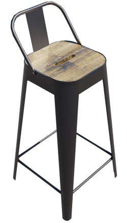 Tabouret de Bar Carré