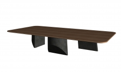 Center low table