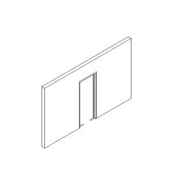 ADBK_Door_PocketSlidingSingle_單口袋門