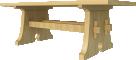 Stickley Trestle Table3D View